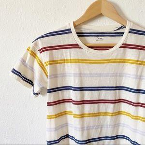 SOLD 🚫 Madewell Stripe Cotton Tee